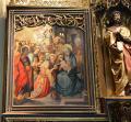 A gauche, l'Epiphanie et à droite St Jean le Baptiste