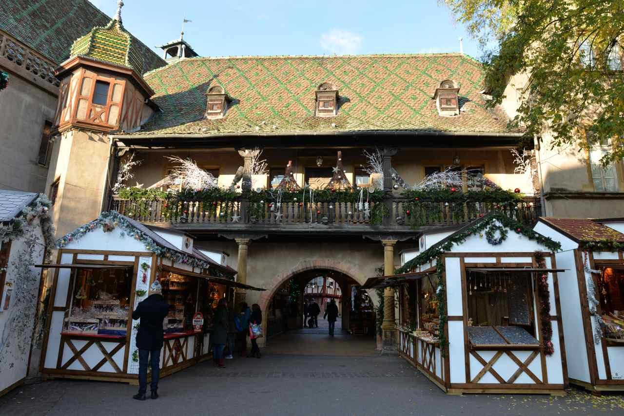 Ancienne douane, vue depuis la fontaine Schwendi