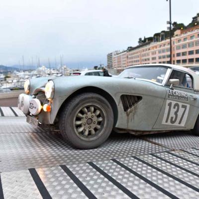 Monaco, rallyes historiques auto