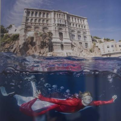 Monaco exposition de photos sous-marines