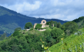 Le château ruiné de l'Engelbourg au sommet du Schlossberg
