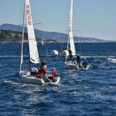 Monaco, régates de voiliers J70