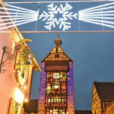 Riquewihr, illuminations de Noël