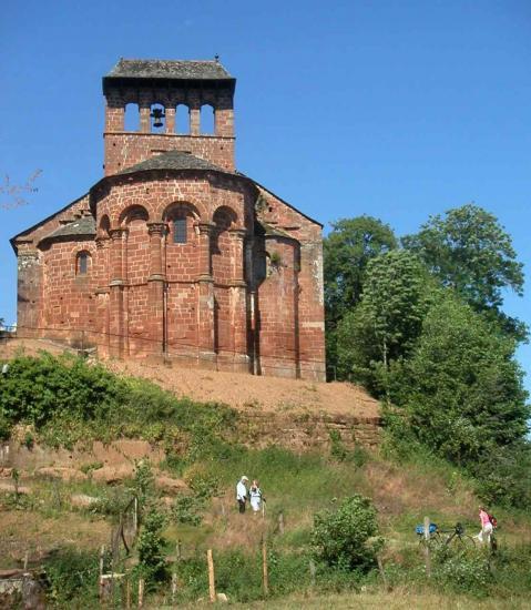 Espalion, église de Perse, le chevet