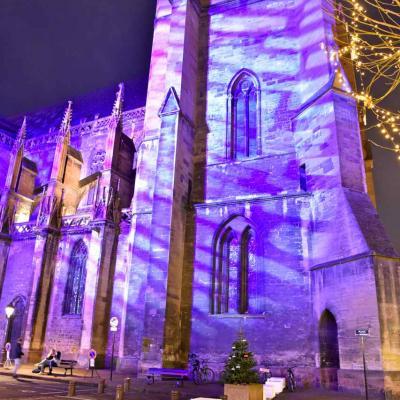 Colmar, la collégiale saint Martin fête Noël