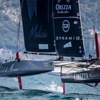Monaco, régates catamarans CG32