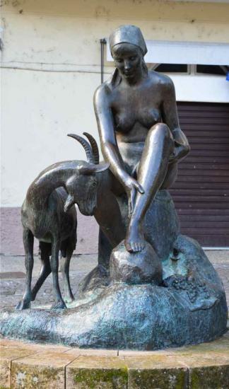 La bergère et sa chèvre