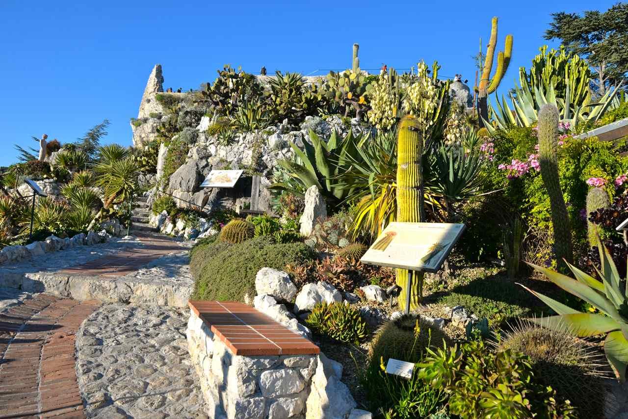 Eze-Village, le château et le jardin exotique