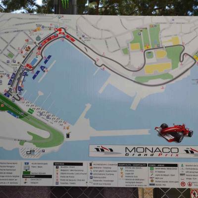 Monaco, essais grand prix de Formule 2015