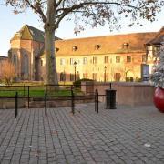 Place de la Sinne, musée des Unterlinden
