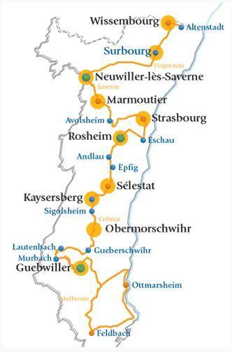 Route romane en Alsace