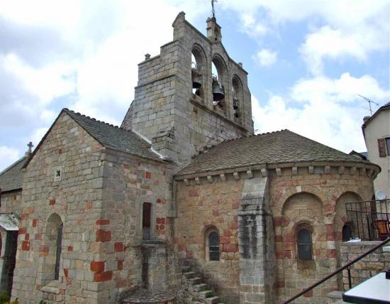 Saint Alban sur Limagnole Eglise St Alban bâtie aux XII°, XIV° et XV° siècles