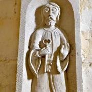 Saint Pierre patron de l'église