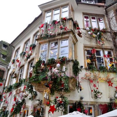 Strasbourg, décos de Noël