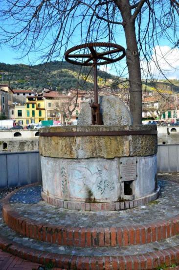 Un ancien pressoir à huile d'olive