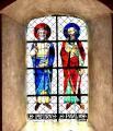 Vitrail de Sts Pierre et Paul
