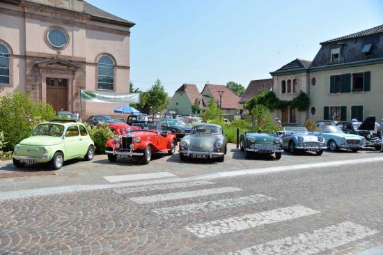 Wintzenheim, exposition Colmar Auto Rétro